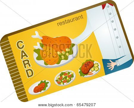 The view of dinner card