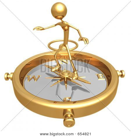 Brújula de equilibrio