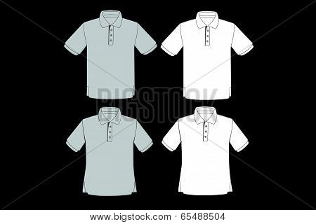 Polo Shirt Vector