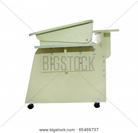 Home School Desk Green