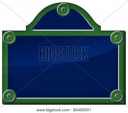Vector Parisian Plate