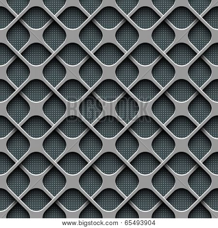 Seamless Perforated Pattern