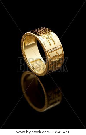 Club Gold Ring