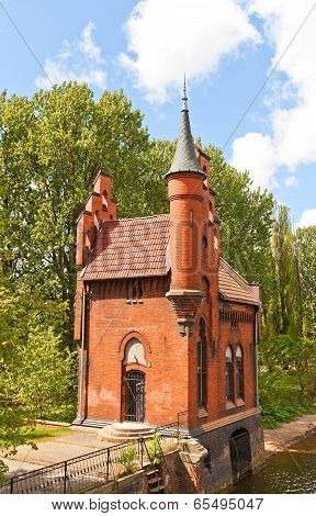 House Of The Bridge Keeper (1882) In Kaliningrad, Russia