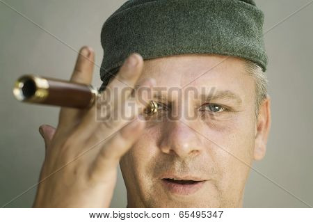 Man With A Spyglass