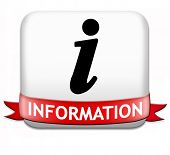 foto of more info  - information sign button banner or label to search more details and find online info - JPG
