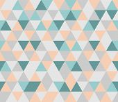 stock photo of chevron  - Colorful tile vector background illustration - JPG