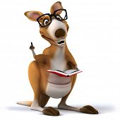stock photo of dessin  - Kangaroo - JPG