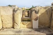 stock photo of megaliths  - Hagar Qim - JPG