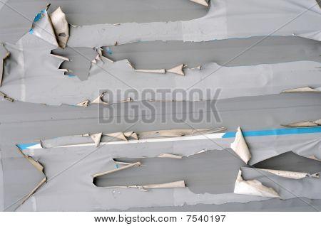 Garra Metal roto raspada