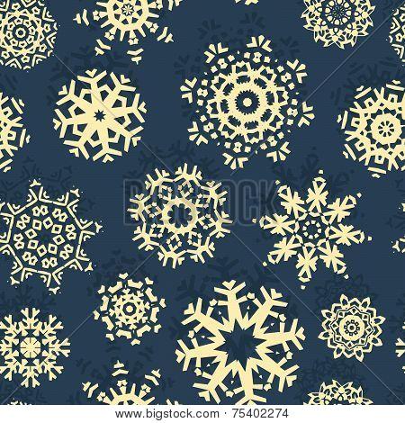 Snowflake Xmas Patter