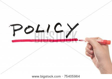 Policy Word