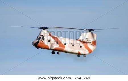 Radio Controled Chinook Helicopter