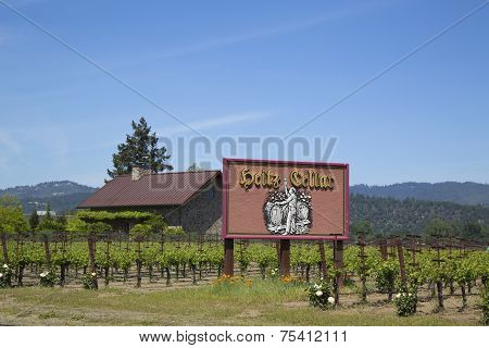 Heitz Cellars Vineyard in Napa Valley