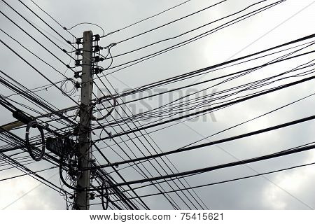 Disarrangement Of Electric Wire