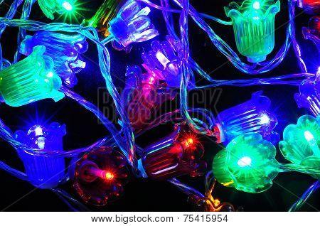 Modern Christmas LED lights