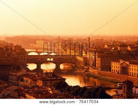 River Arno, Florence.