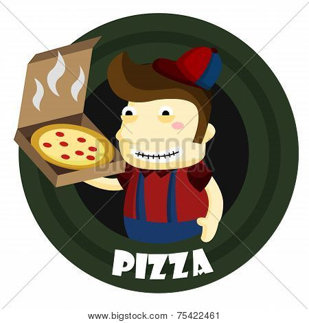 Pizza Boy Logo