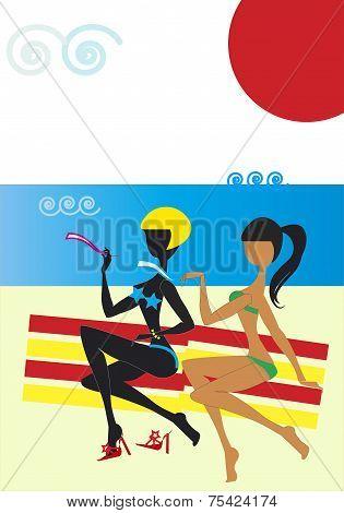 Women On The Seashore