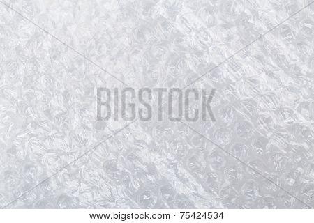 Plastic bubble wrap