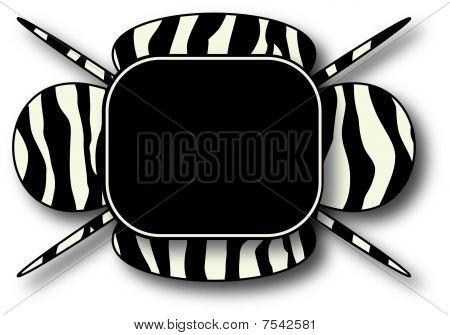 Zebra Background Illustration