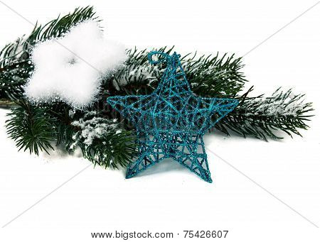 Christmas Star And Three