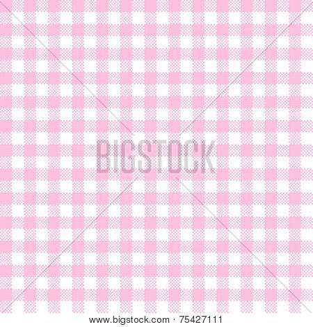 Checkered Pattern Pink - Endless