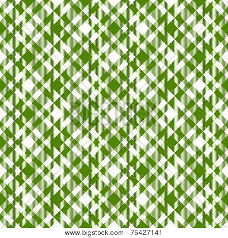 Checkered Tablecloths Pattern Green - Endless