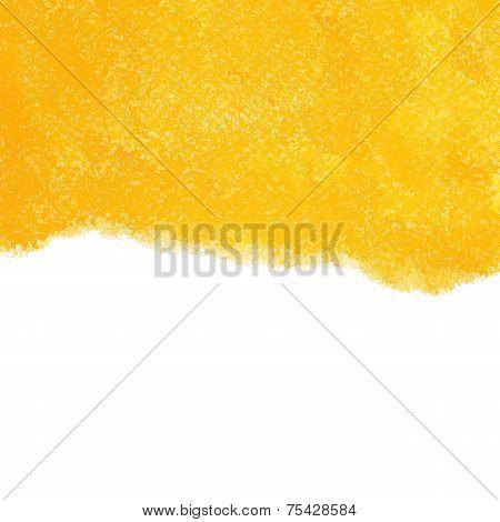 Vector illustration of Orange chalk pastels background