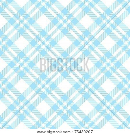 Checkered Tablecloths Pattern Endlessly - Light Blue