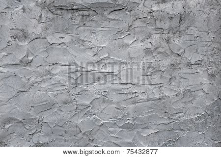 Gray Uneven Rough Concrete Wall Texture For Background And Pattern