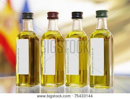 Spanish Extra Virgin Olive Oil Bottles