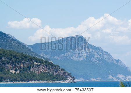 Turkey, view  a peaks of the Taurus Mountains