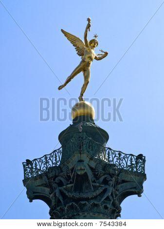 Genius of the Bastille Statue