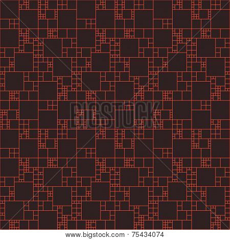 Vector seamless pattern.  Repeating abstract background with cir