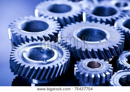 Gears, industrial mechanism