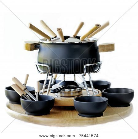 cookware set for fondue