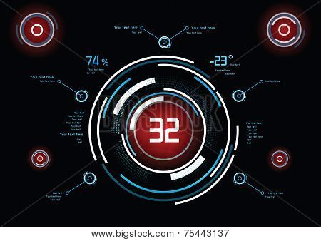 Infographics As Head-up Display
