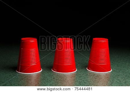 Three Red Cups - Shell Game