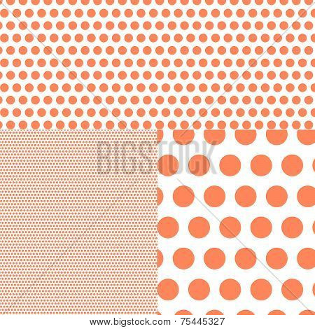 Polish Polka Dot Abstract Background