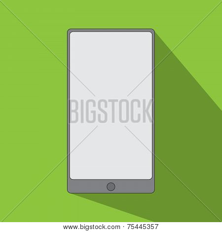 Smartphone Icon Flat Design