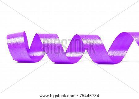 Violet Satin Ribbon