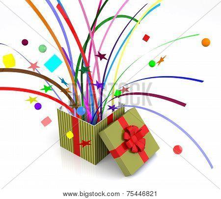 Gift Box Pops - Confetti