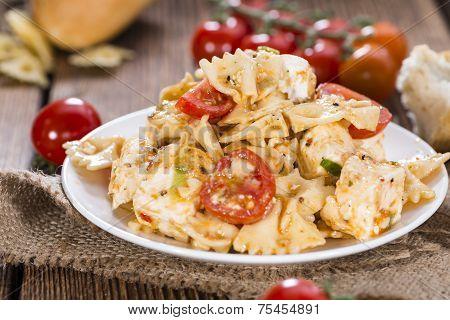 Fresh Made Pasta Salad (with Farfalle)