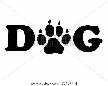 Dogs Paw Shows Pedigree Canine And Doggie