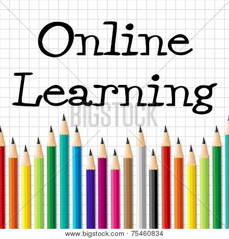 Online Learning Pencils Represents Web Site And Toddlers
