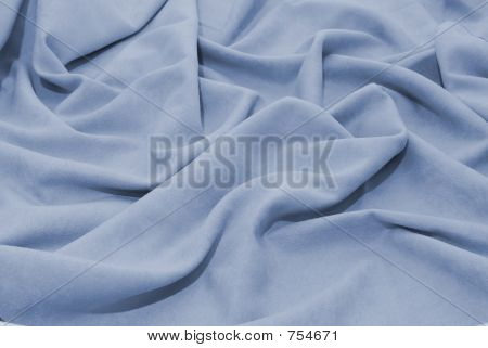 Soft blue fabric