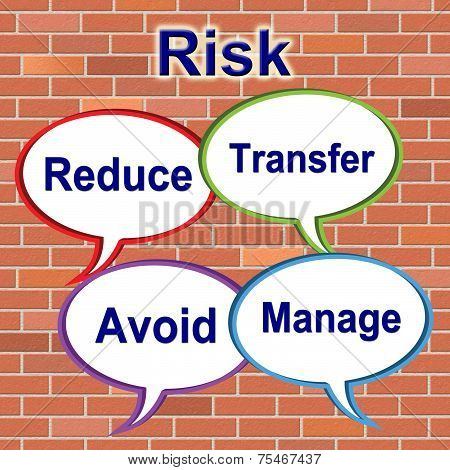 Risk Words Indicates Unstable Beware And Risky