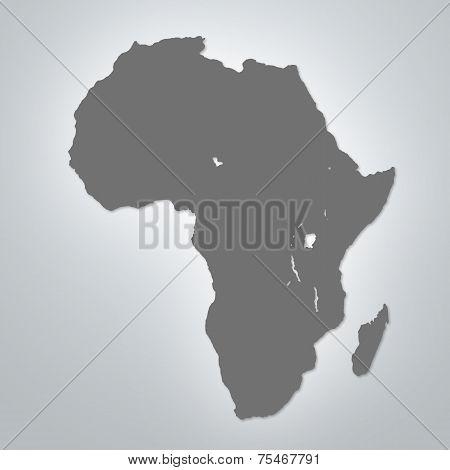 Modern Africa Map
