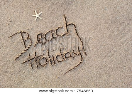 Beach Holiday in Sand